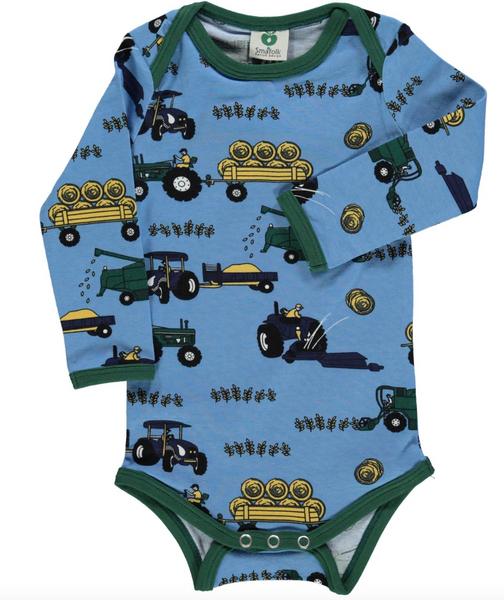 Bilde av Body med traktor winter blue